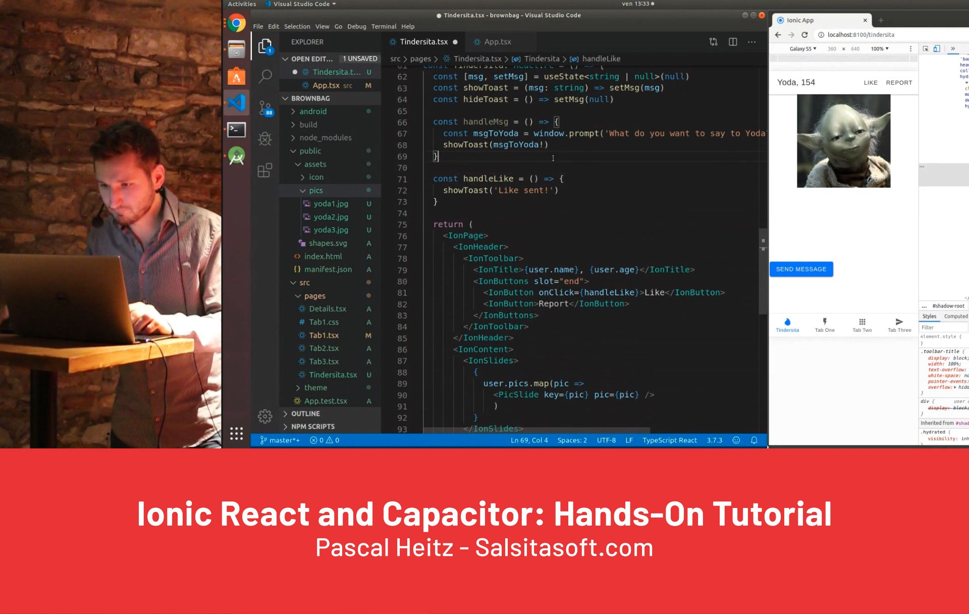 Ionic React and Capacitor: Hands-On Tutorial